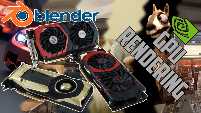 GPU rendering in Blender v2.79b - TITAN V | GTX 1080(Ti) | GTX 980(Ti) | GTX 1060 and more ...