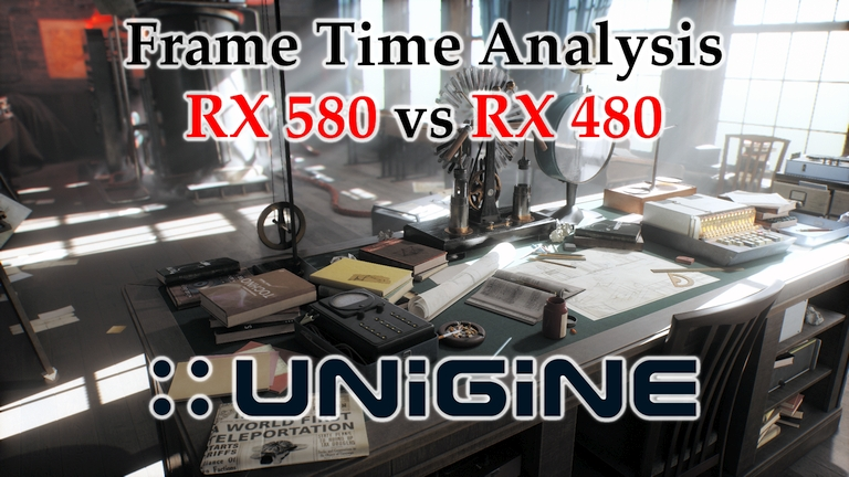 RX 580 vs RX 480 Frame Time Analysis - Unigine Superposition v1.0 DX11 [BENCHMARK]