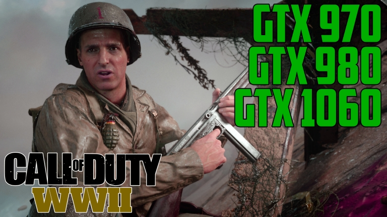Call of Duty: WWII D-Day - GTX 970 | GTX 980 | GTX 1060