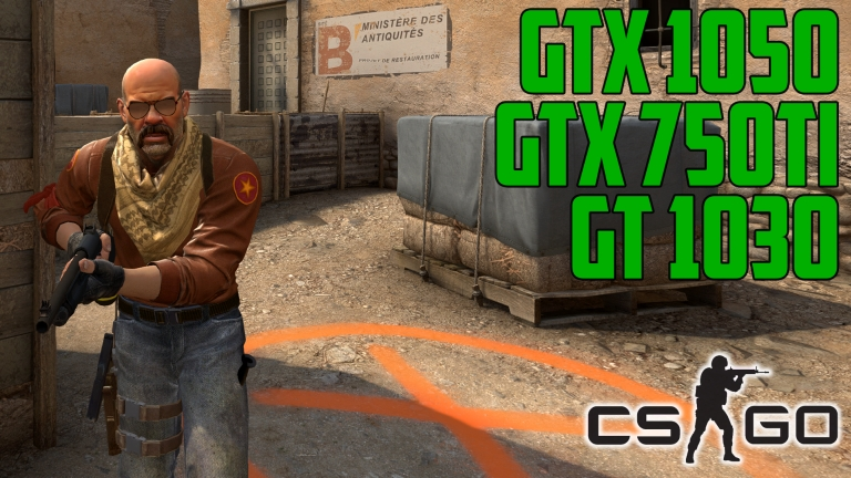 Counter-Strike: Global Offensive Dust 2 Remake - GT 1030 | GTX 750 Ti | GTX 1050
