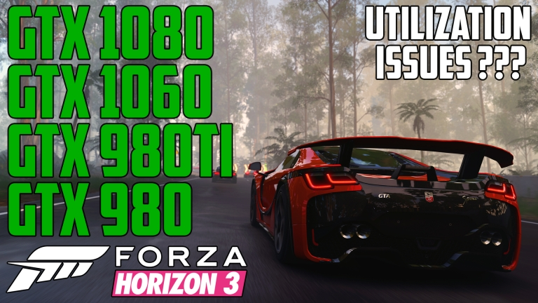 Forza Horizon 3 Rainforest Circuit Race - GTX 980 | GTX 980 Ti | GTX 1060 | GTX 1080