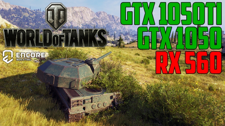 World of Tanks enCore v0.1 - GTX 1050 | GTX 1050 Ti | RX 560