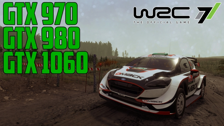 WRC 7 in Wales Rally GB - GTX 970 | GTX 980 | GTX 1060
