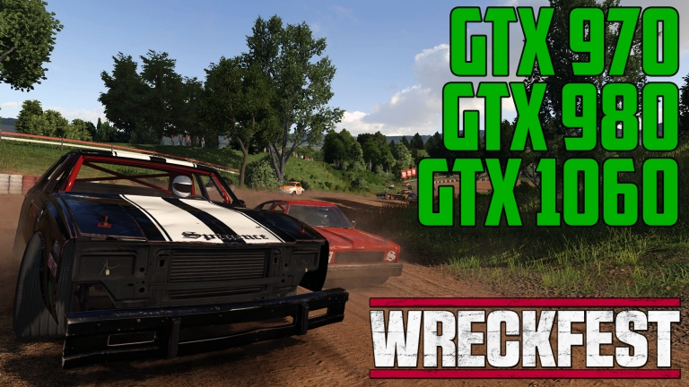 Wreckfest December Update in Gravel 1 - GTX 970 | GTX 980 | GTX 1060