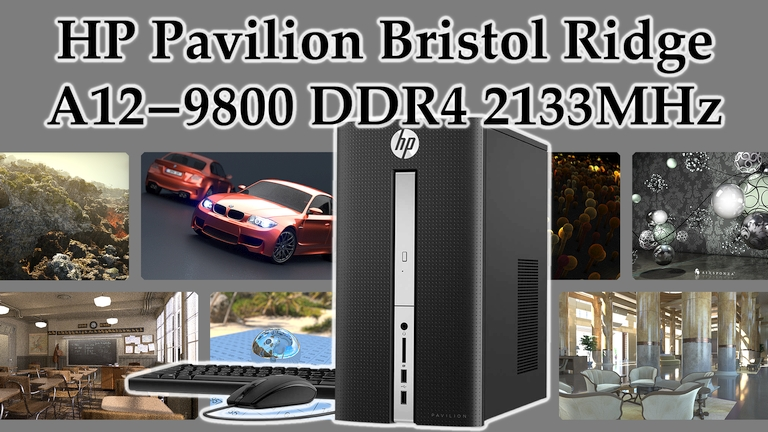 HP Pavilion A12-9800 OEM Bristol Ridge mini review